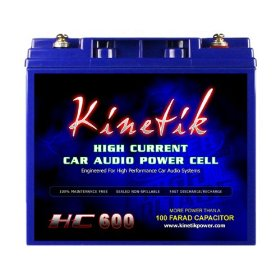 Kinetik HC600 - 600 Watt 12 Volt Power Cell Battery