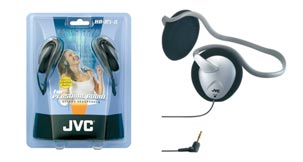 Jvc hab5s silver headphone
