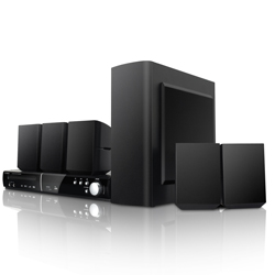 Coby dvd938 black home theater 5.1ch dvd usb sd input