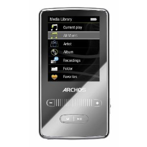 Archos 2 Vision 8 GB Video MP3 Player (Red)