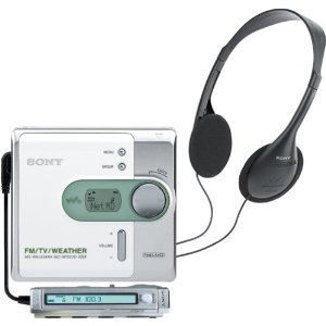 Sony MZ-NF520D Net MD Walkman (White)