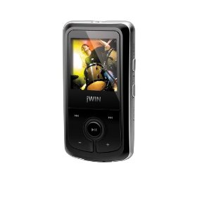 JWIN 2 GB MP3 Player with 1.5-Inch Color Video, FM Radio and Micro SD Card Slot