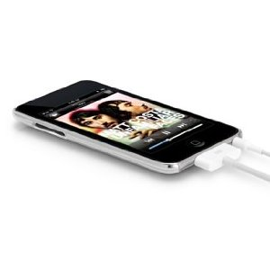 Power Support Clear Air Jacket Set iPod touch 2G and Brand New touch 2G - Case for digital player - clear - iPod touch (2G)