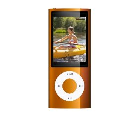 Apple iPod nano 8 GB Orange (5th Generation) NEWEST MODEL
