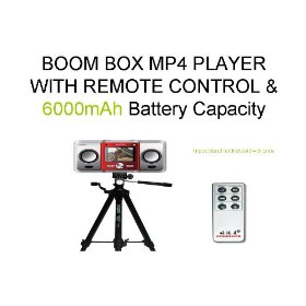 Boom BOX Mp5 Player with Yamaha Boom Speaker Portable Boombox Mp4 Player Compartible