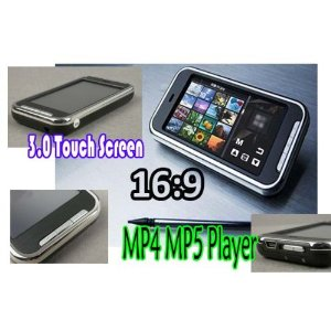 IRC 8GB Touch Screen MP3 MP4 Video Player 3.0 Inches LCD