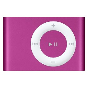 Apple iPod shuffle 1 GB New Pink (2nd Generation) [Previous Model]