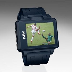 2GB 1.8'' MP4 Watch(Navy Blue frame, Navy Blue belt)(MP3, Video, Photo, FM, Flash Disk, Record)
