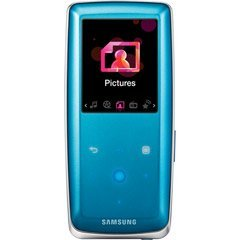Samsung 8GB S3 Touch Sensitive Portable MP3 and Video Player (Blue)