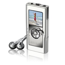 Archos 104 4GB MP3 and WMA Digital Music Player and Photo Viewer, Grey (500852)