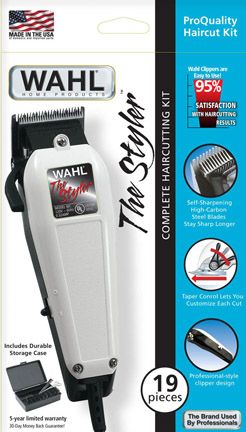 Wahl 09236 clipper kit 19 pcs hard case