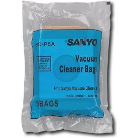 Sanyo scp5a paper bag 5pcs forsct2900 series scy130
