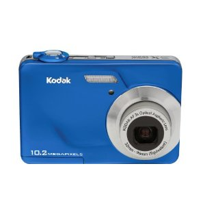 Kodak EasyShare C180 10MP Digital Camera with 3x Optical Zoom and 2.4 inch LCD (Imperial Blue)