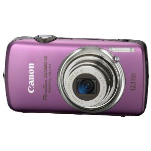 Canon PowerShot SD980IS 12MP Digital Camera with 5x Ultra Wide Angle Optical Image Stabilized Zoom and 3-inch LCD (Purple)