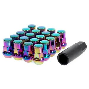 Muteki SR35 Neo Chrome Lug Nuts 12x1.5