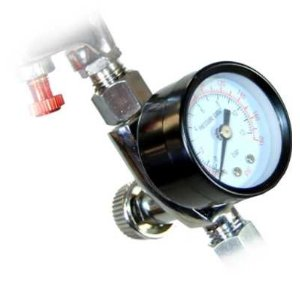 Air Adjusting Valve Regulator with Gauge