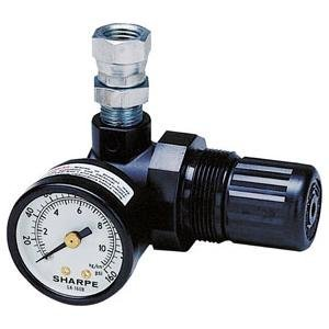 Sharpe (SHP1410) Mini Air Regulator with Gauge