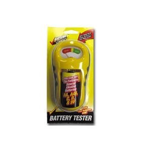 Battery Tester for Multiple Sized Batteries