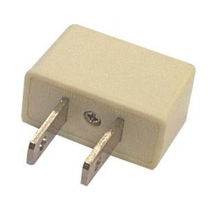 Hitech - AC Adaptor Plug Converts European Plugs to US Outlets