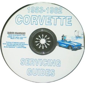 1953-1962 Corvette Shop and Service Manual on CD