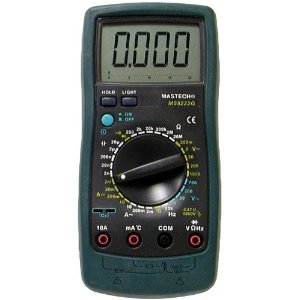 Mastech MS8222G 31-Range Digital Multimeter