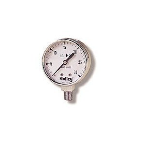 Holley 26-501 Analog Vacuum Gauge
