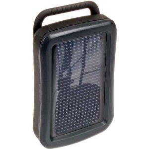 Sunpak Sc-2aa Solar/usb Charger With 2 Aa Nimh Batteries
