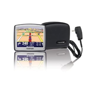 TomTom ONE 130S 3.5-Inch Portable GPS Navigator Bundle