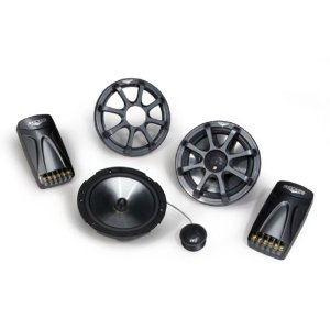 Kicker 08KS6502 KS-Series 6.5-Inch Component System with 1-Inch 25mm Tweeter