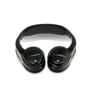 XO Vision IR325 Wireless Infrared Stereo Headphones with Receiver
