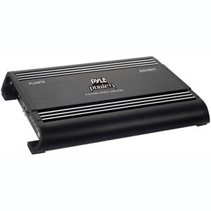 PYLE PLA4278 4 ch 2000 Watts Bridgeable Mosfet Amplifier