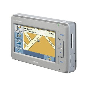 Plenio VXA-4300 4.3-Inch Widescreen Touch Screen Navigator