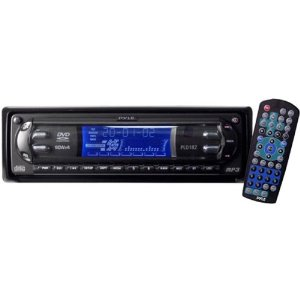 In-dash DVD/ CD/ MP3 with Am-fm Radio & Detachable Face