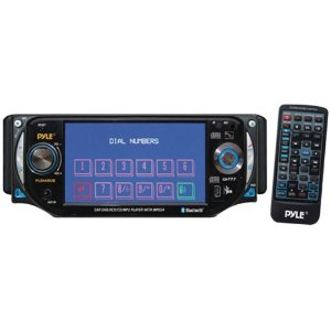 PYLE PLD44MUBT 4.3-Inch TFT Touch Screen DVD/VCD/CD/MP3/CD-R/USB/ AM/FM/Bluetooth and Screen Dial Pad
