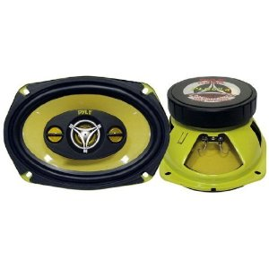 PYLE PLG69.4 6-Inch x 9-Inch 400 Watt Four-Way Speakers