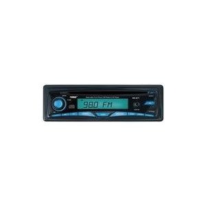 Naxa NX-671 DETACHABLE STEREO AM/FM.MPX CAR RADIO WITH COMPACT DISC PLAYER And AUX-IN JACK