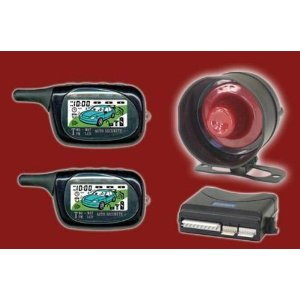 Performance Teknique Icbm-7071 3,000 Foot Range 2-way Lcd Remote Start/alarm Combo with 2 Remotes, Tach or Tachless Operational, Dual Zone Shock Sensor, Fully Adjustable Settings, Vibrate Options