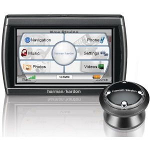 Harman Kardon GPS-810 4.3-Inch Widescreen Bluetooth Portable GPS Navigator and Media Player