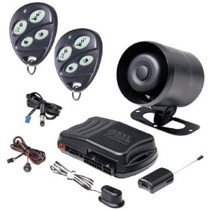 Black Widow BWX1 Full Featured Vehicle Security System with Keyless Entry