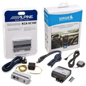 Complete Sirius Satellite Radio System for Satellite Ready ALPINE Receivers KCA-SC100 + SCC1