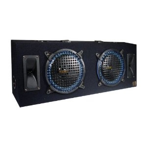 THUMP AT-8 Car Subwoofer Box Enclosure w/2- 800 Watt 8