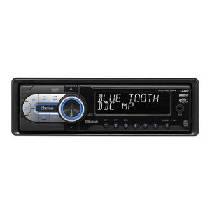 Clarion CZ509 CD/MP3/WMA/AAC/iPod Receiver with Built-In Bluetooth Receiver and USB Port