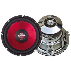 Legacy LW1249 12-Inch 1200 WattLegacy Red Series Subwoofer