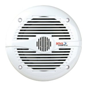 Boss Audio MR50W Marine 2-Way 5.25-Inch Speaker (Single, White)