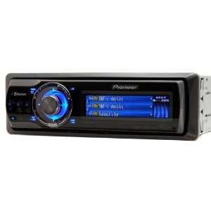 Brand New Pioneer Deh-p9800bt Car Cd/mp3 Receiver with Bluetooth Built in (No Additional Accessories) + Aux in + Full Color Oel Display and the Most Advanced Audio Options Including Parametic Equalizer and 3 Band Crossover + Sub Ccontrols