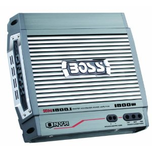 Boss NX1800.1 1800 Watt Monoblock Mosfet Amplifier with Remote