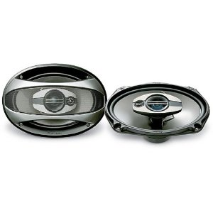 Pioneer TS-A6973R 6-Inch X 9-Inch, 300-Watt 3-Way Speakers