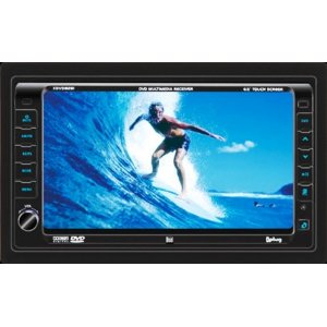 Dual XDVD8281 In-Dash Mobile Video with 7-Inch Touch Screen LCD
