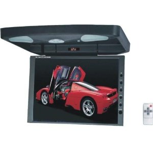12.1 TFT LCD CAR OVERHEAD HIGH RES JUMBO DVD MONITOR