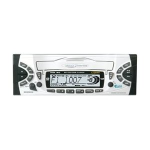 BOSS MR2080W Marine MP3/CD Receiver with Wired Remote - Drop-down ruberized CD loading door